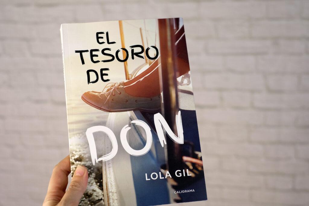El tesoro de Don , es una magnifica novela de aventuras escrito por Lola Gil y publicado por Caligrama editorial.