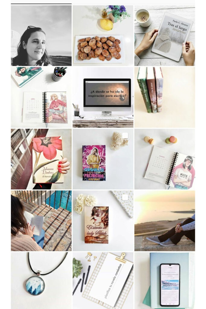 Perfil de instagram de Paola C. Álvarez.