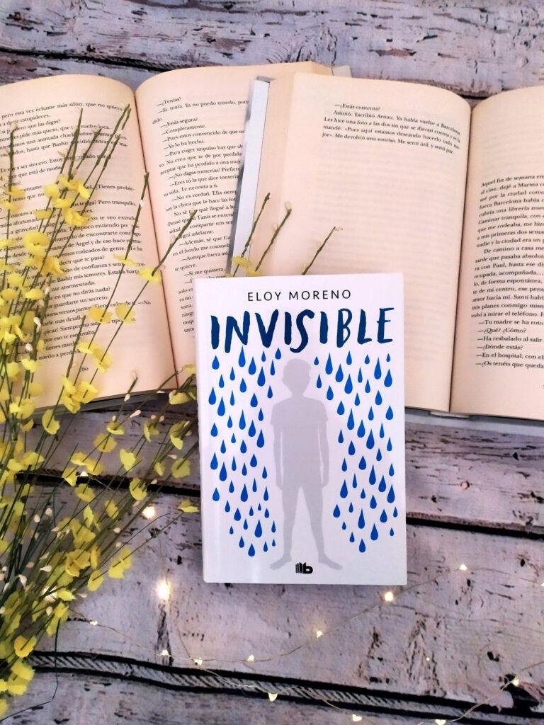 Invisible, el libro mas especial de Eloy Moreno.
