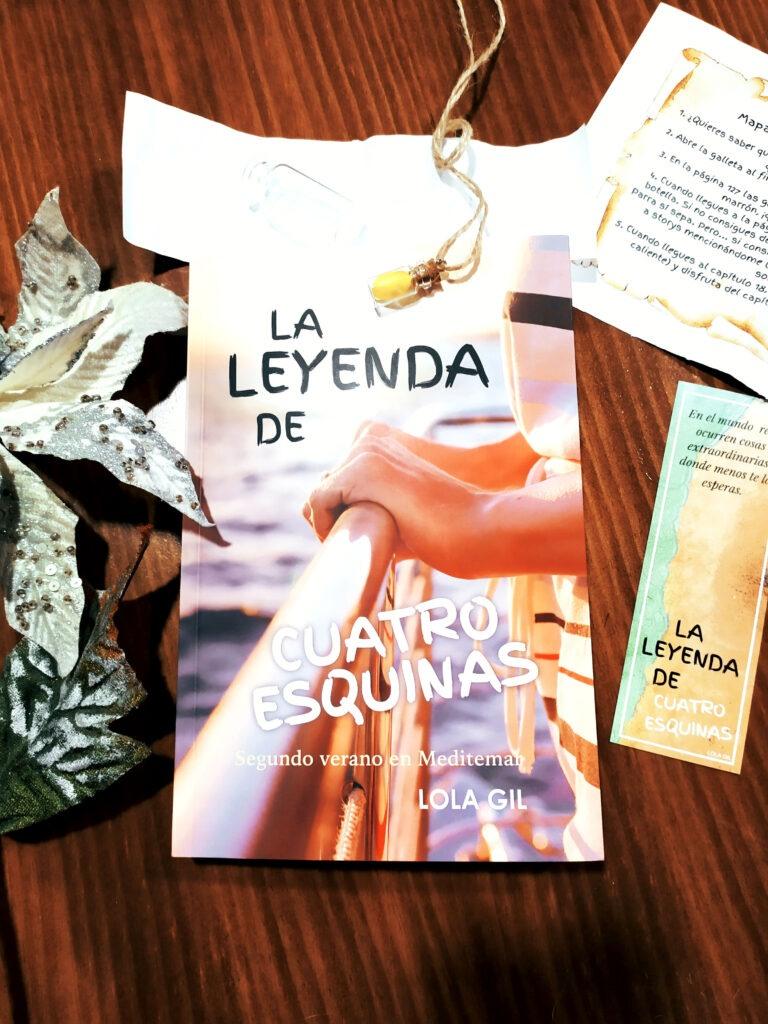 La leyenda de cuatro esquinas un libro auto publicado por Lola Gil.