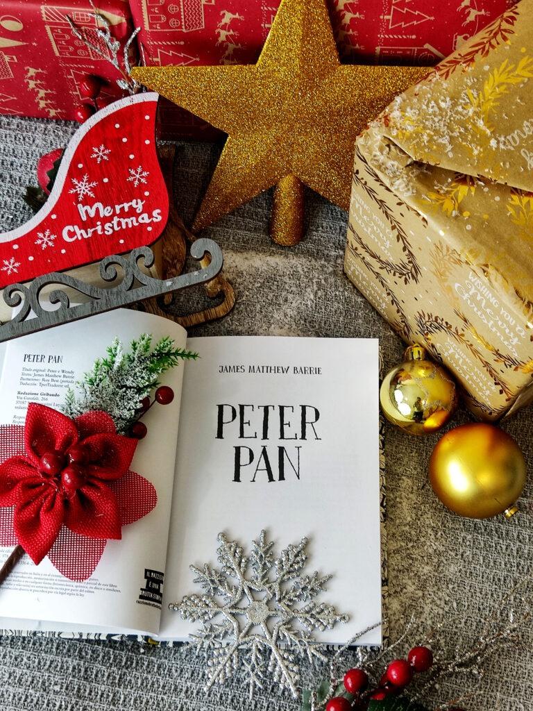 Peter Pan por James Matthew Barrie.