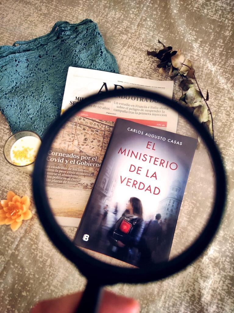 El Ministerio de la Verdad por Carlos Augusto Casas.
